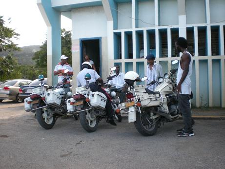 Jamaica Police Motorcycles