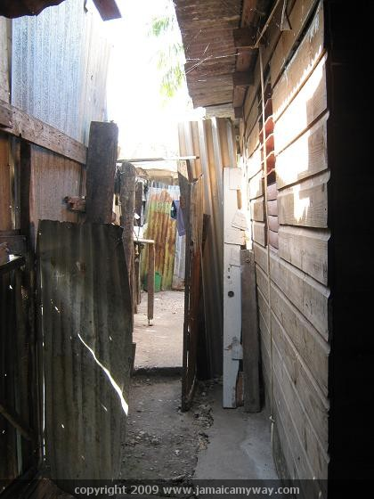 Back of house in Spanish Town