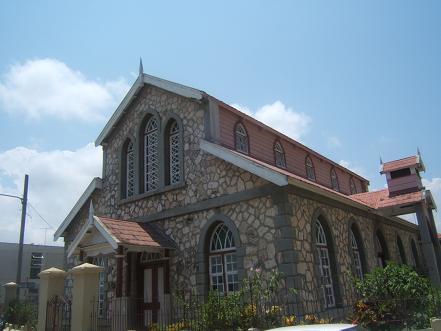 Church in Lucea, Jamaica
