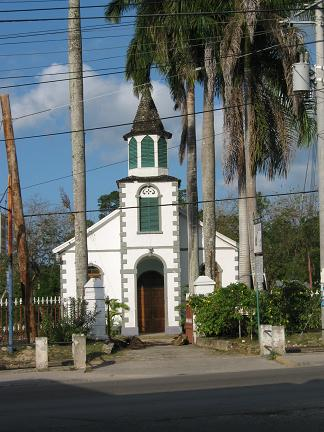 My favorite little church in Ocho Rios, Jamaica