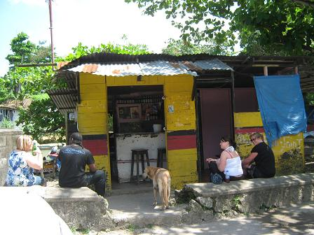 Merle's Fish Joint - White River, Jamaica
