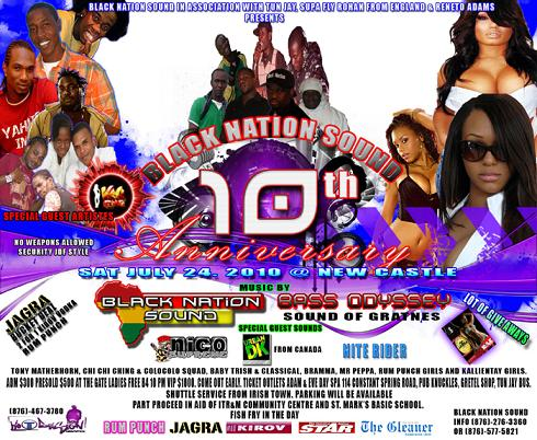 Black Nation 10th Anniversary Party