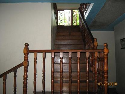Staircase leading upstairs