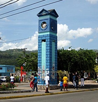 Ocho Rios clock tower