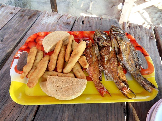 Hellshire Beach fried fish