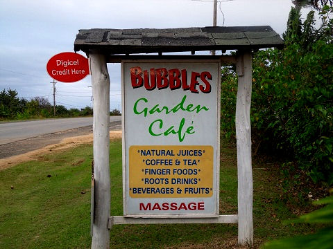 bubbles cafe in jamaica