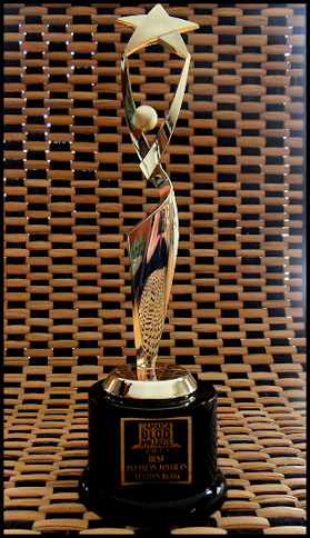 jamaica blog award trophy