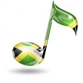 18989403-musical-note-with-jamaican-flag-colors-on-white-background
